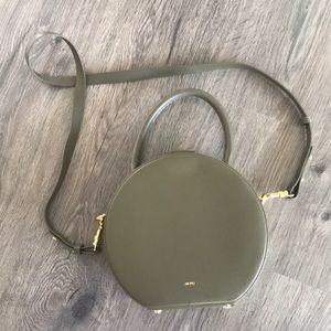 JW PEI olive circular handbag - vegan - bnwot